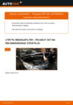 Steg-för-steg-guide i PDF om att byta Torkarmekanism i Audi A4 B8