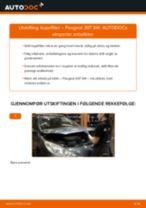 Mekanikerens anbefalinger om bytte av PEUGEOT Peugeot 307 SW 1.6 16V Vindusviskere