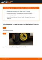 Veiledning på nettet for å skifte Bremseklave reparasjonssett i MERCEDES-BENZ 190 selv