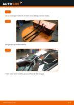 Slik bytter du vindusviskere fremme på en Renault Clio 3 – veiledning