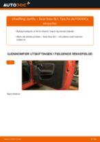 Hvordan bytte og justere Viskermotor SEAT IBIZA: pdf håndbøker