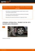 Jak wymienić łożysko koła tył w Peugeot 307 SW - poradnik naprawy