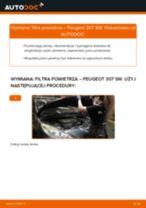 Poradnik naprawy i obsługi Peugeot 307 Sedan