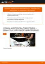 Samodzielna wymiana Amortyzatory tylne i przednie RENAULT - online instrukcje pdf