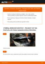 Jak vyměnit přední brzdové destičky na Peugeot 307 SW – návod k výměně
