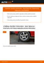Výměna Sada prislusenstvi, oblozeni kotoucove brzdy SEAT IBIZA: zdarma pdf