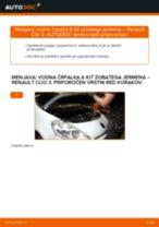 Kako zamenjati avtodel vodna črpalka & kit zobatega jermena na avtu Renault Clio 3 – vodnik menjave