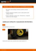 Kako zamenjati avtodel vzmeti zadaj na avtu Renault Clio 3 – vodnik menjave
