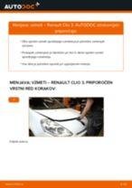 Kako zamenjati avtodel vzmeti spredaj na avtu Renault Clio 3 – vodnik menjave