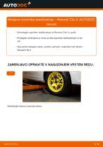 Kako zamenjati avtodel končnik stabilizatorja spredaj na avtu Renault Clio 3 – vodnik menjave