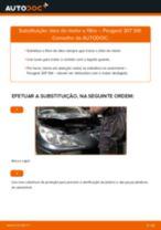 Recomendações do mecânico de automóveis sobre a substituição de PEUGEOT Peugeot 307 SW 1.6 16V Filtro de Ar