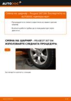 Смяна на Прахозащитен комплект амортисьор на PEUGEOT 307: безплатен pdf