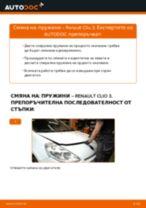 Как се сменят предни пружини на Renault Clio 3 – Ръководство за смяна