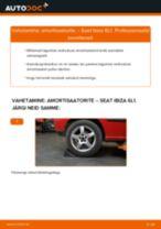 Millal vahetada Pidurisilinder SEAT IBIZA IV (6L1): käsiraamat pdf