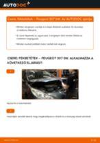 Elülső fékbetétek-csere Peugeot 307 SW gépkocsin – Útmutató