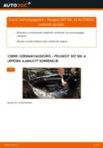 Autószerelői ajánlások - Peugeot 407 Sedan 1.6 HDi 110 Összekötőrúd cseréje