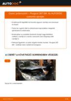 PEUGEOT 308 felhasználói kézikönyv pdf