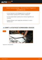Autószerelői ajánlások - Renault Clio 3 1.2 16V Vezetőkar fej cseréje