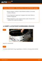 RENAULT THALIA felhasználói kézikönyv pdf