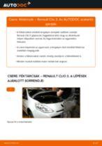 RENAULT THALIA hibaelhárítási szerelési kézikönyv