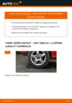 Autószerelői ajánlások - Seat Ibiza 6l1 1.4 16V Vezetőkar fej cseréje
