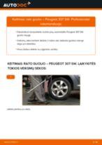 Internetinis vadovas, kaip pačiam pakeisti Guolis, rato guolio korpusas ant BMW E60