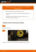 Pakeisti Aukštos įtampos laidų RENAULT CLIO: instrukcija