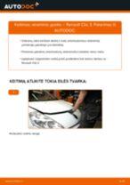 Automechanikų rekomendacijos RENAULT Renault Clio 3 1.2 16V Rato guolis keitimui