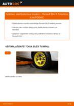 CADILLAC Rankinio Stabdžio Trosas keitimas pasidaryk pats - internetinės instrukcijos pdf