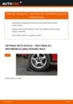 Automechanikų rekomendacijos SEAT Seat Ibiza 6l1 1.4 16V Pasukimo trauklė keitimui