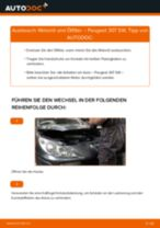 Wie Peugeot 307 SW Motoröl und Ölfilter wechseln - Anleitung