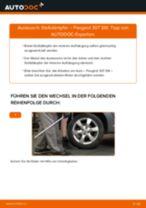 Online-Anleitung zum Staubmanschette & Gummianschlag-Austausch am PEUGEOT 307 SW (3H) kostenlos