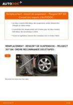 Comment changer : ressort de suspension arrière sur Peugeot 307 SW - Guide de remplacement