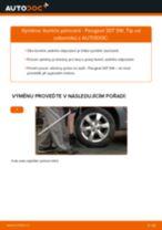 Jak vyměnit zadní tlumiče pérování na Peugeot 307 SW – návod k výměně