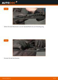 Wie der Wechsel durchführt wird: Scheibenwischer 1.6 HDI 110 Peugeot 307 SW tauschen