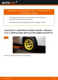 Wie der Wechsel durchführt wird: Querlenker 1.5 dCi Renault Clio 3 tauschen