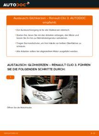 Wie der Wechsel durchführt wird: Glühkerzen 1.5 dCi Renault Clio 3 tauschen