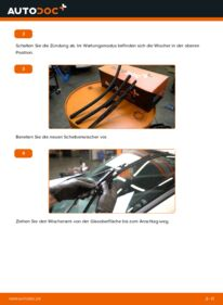 Wie der Wechsel durchführt wird: Scheibenwischer 1.5 dCi Renault Clio 3 tauschen