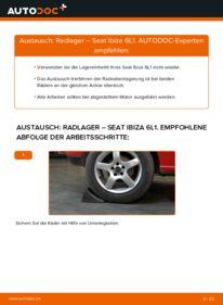 Wie der Wechsel durchführt wird: Radlager 1.9 TDI Seat Ibiza 6L1 tauschen