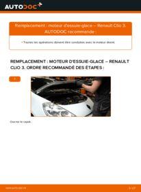 Comment effectuer un remplacement de Moteur d'Essuie-Glace sur 1.5 dCi Renault Clio 3