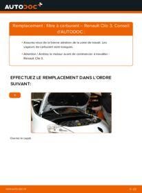 Comment effectuer un remplacement de Filtre à Carburant sur 1.5 dCi Renault Clio 3