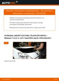 Jak przeprowadzić wymianę: Amortyzator w RENAULT CLIO
