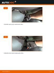 Jak provést výměnu: Kabinovy filtr na 1.5 dCi Renault Clio 3