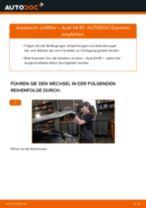 VALEO 585001 für A4 Limousine (8EC, B7) | PDF Handbuch zum Wechsel