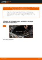 Hinweise des Automechanikers zum Wechseln von AUDI Audi A4 B8 1.8 TFSI Keilrippenriemen