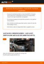 Bremsscheiben hinten selber wechseln: Audi A4 B7 - Austauschanleitung