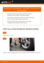 Come cambiare ammortizzatori della parte posteriore su Audi A4 B7 - Guida alla sostituzione