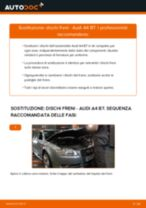 Come cambiare dischi freno della parte posteriore su Audi A4 B7 - Guida alla sostituzione