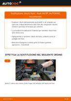 Come cambiare dischi freno della parte anteriore su Audi A4 B7 - Guida alla sostituzione