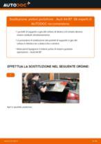 Come cambiare pistoni portellone su Audi A4 B7 - Guida alla sostituzione